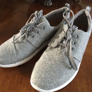 Toms Grey 7.5 Tennis Shoes